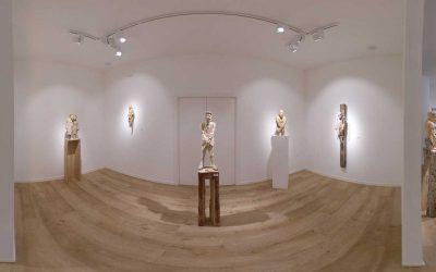 As partes e o todo, exposición de esculturas de Álvaro de la Vega